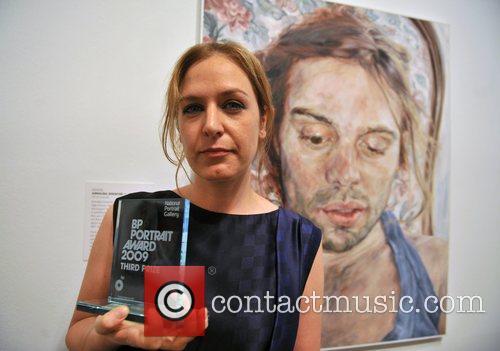Third Prize winner Annalisa Avancini with her work...