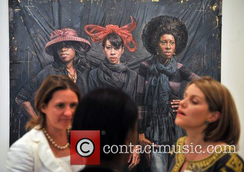 Tim Okamura 'Hats and Scarves' BP Portrait Prize...