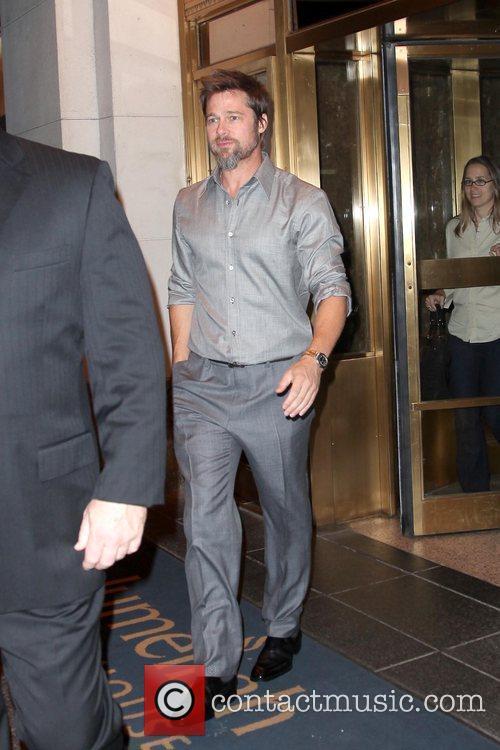 Departs his hotel