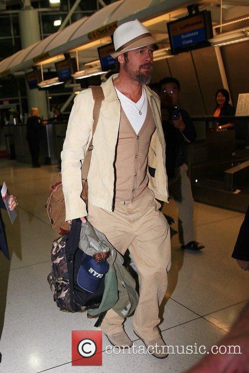 Brad Pitt and Son Arrive At Jfk International Airport To Catch A Flight 10