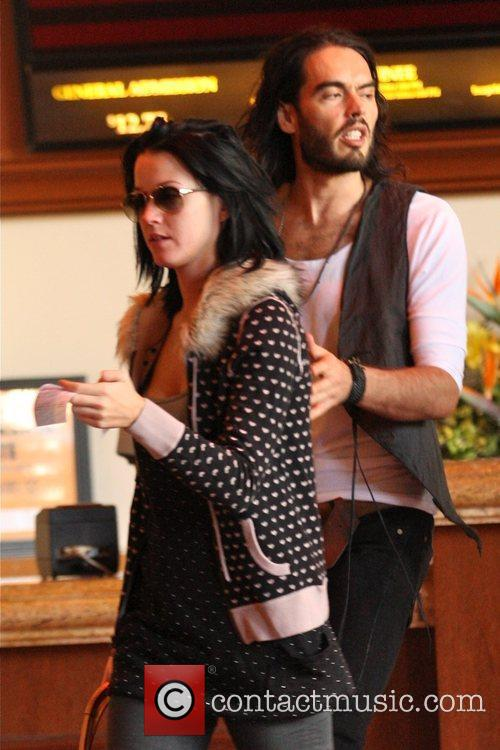 Russell Brand and Katy Perry head to see...
