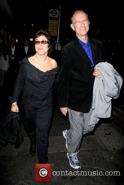 Ruby Wax and Guest Celebrities arrive at the...