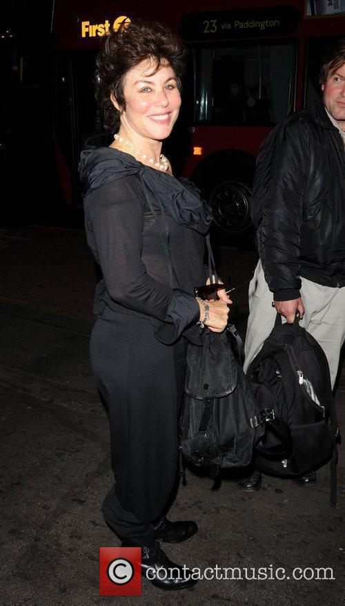 Ruby Wax Celebrities arrive at the Breakfast at...