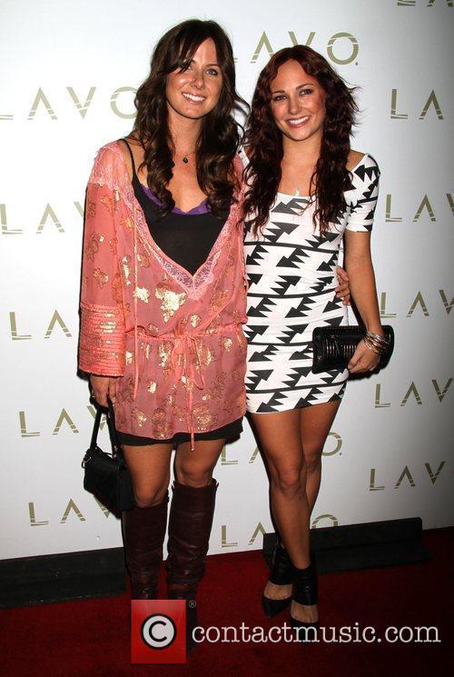 Briana Evigan, with Vanessa Evigan, as she celebrates...