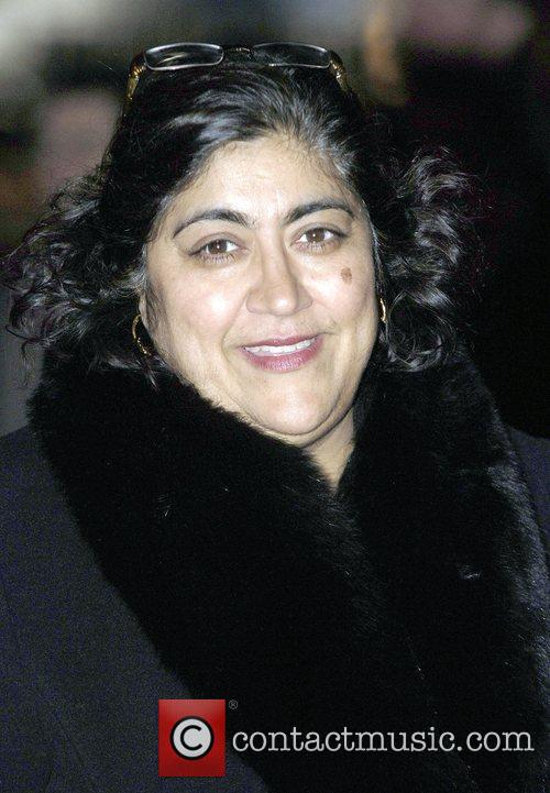 Gurinder Chadha attends the premiere for 'Bright Star'...