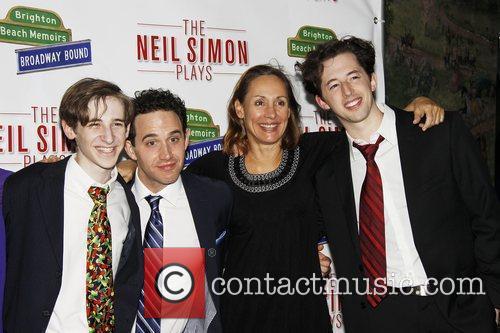 Noah Robbins, Santino Fontana, Laurie Metcalf and Josh...