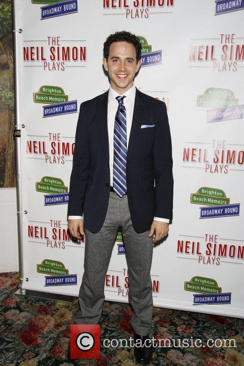 Santino Fontana Opening night after party for Neil...