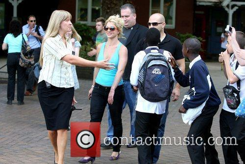 Britney Spears visits London Zoo  London, England