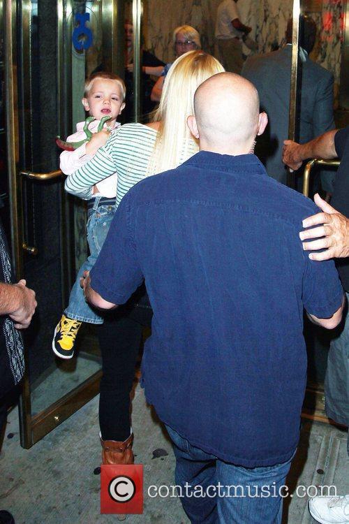 Britney Spears takes her sons, Sean Preston Federline...