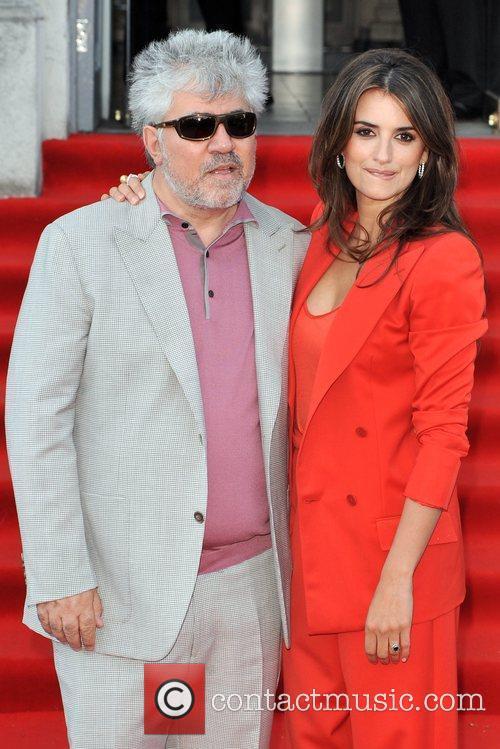 UK film premiere of 'Broken Embraces' held at...