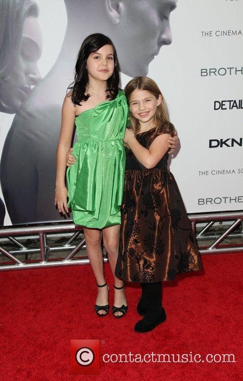 Actresses Bailee Madison and Taylor Geare The Cinema...