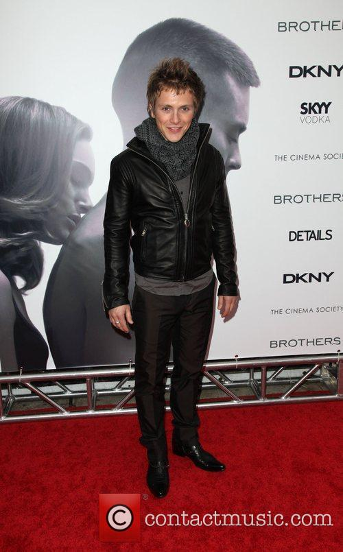 Charlie Bewley, The Cinema Society, Details and DKNY...