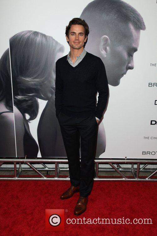 Matt Bomer The Cinema Society, Details and DKNY...