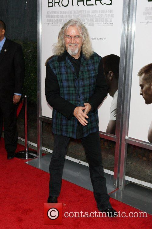 Billy Connolly The Cinema Society, Details and DKNY...