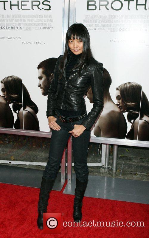Irina Pantaeva The Cinema Society, Details and DKNY...