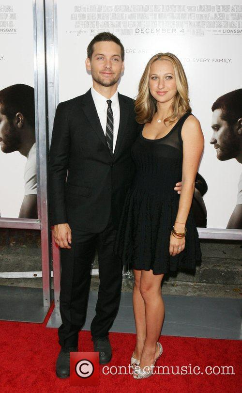 Tobey Maguire and his wife Jennifer Meyer The...