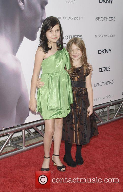 Bailee Madison and Taylor Geare The Cinema Society,...