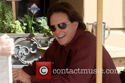 Bruce Jenner filming a scene for his reality...