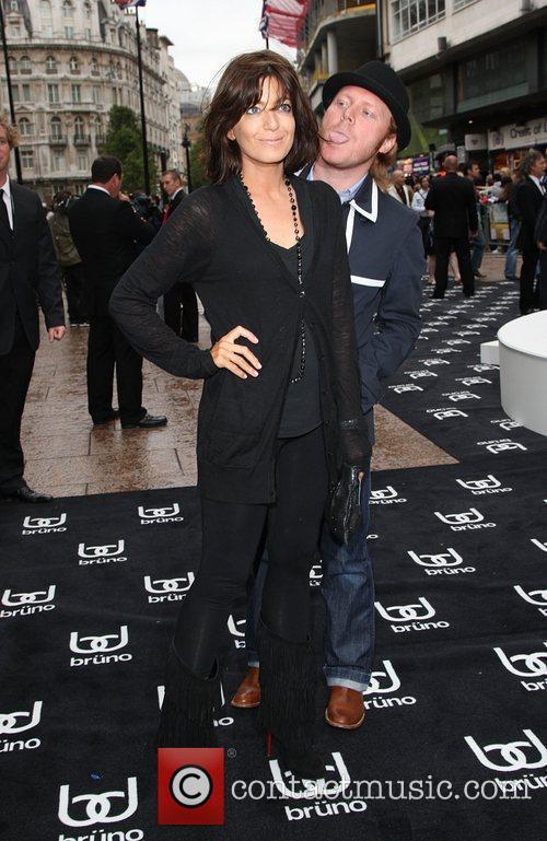 Avid Merrion and Claudia Winkleman UK film premiere...