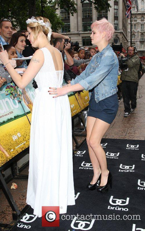 Peaches Geldof, Pixie Geldof, Empire Leicester Square