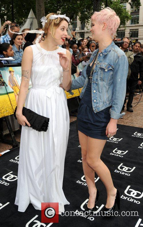 Peaches Geldof, Pixie Geldof and Empire Leicester Square 4