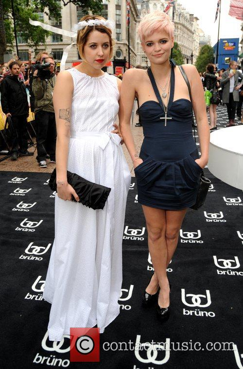 Peaches Geldof, Pixie Geldof and Empire Leicester Square 1