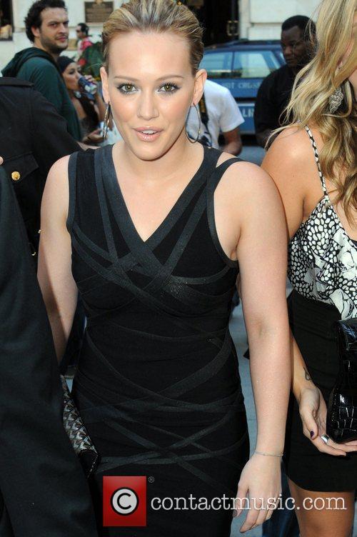 Hilary Duff, New York Fashion Week