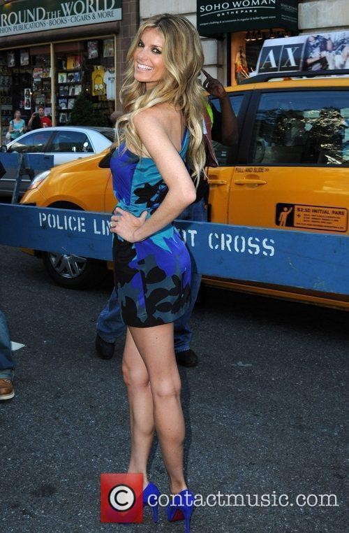 Marisa Miller, New York Fashion Week