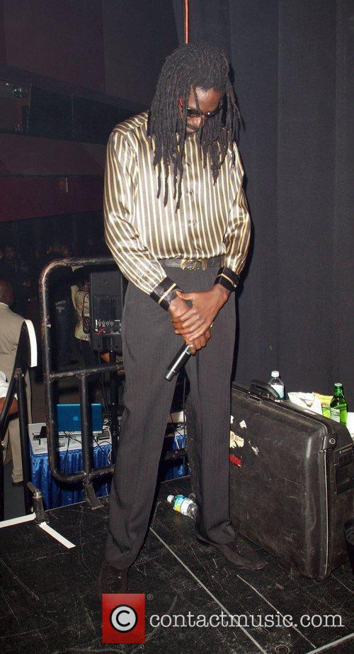 Performing live at Reggae Bash 2009 in the...