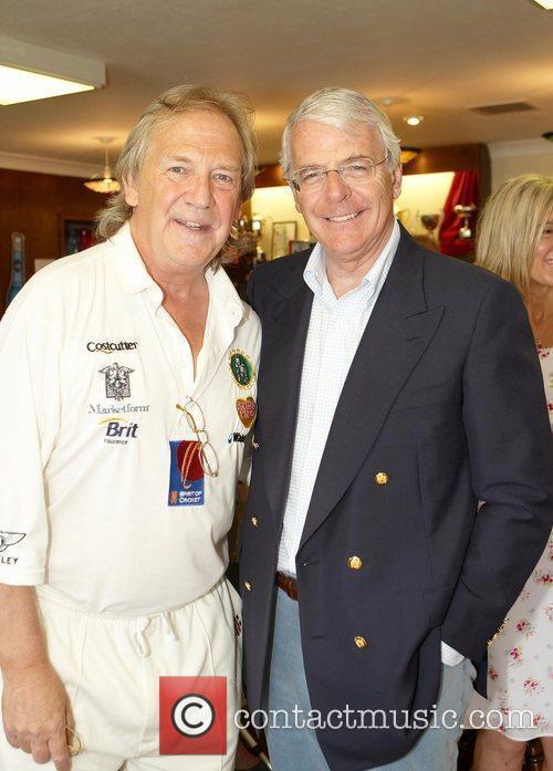 David English and Sir John Major Bunbury celebrity...