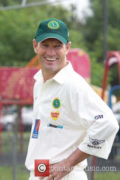 Graeme Hick Bunbury celebrity charity cricket match between...