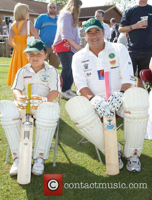 Graham Cowdrey with son Michael Cowdrey Bunbury celebrity...