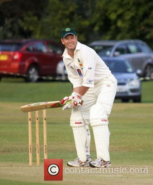 Graham Hick Bunbury celebrity charity cricket match between...