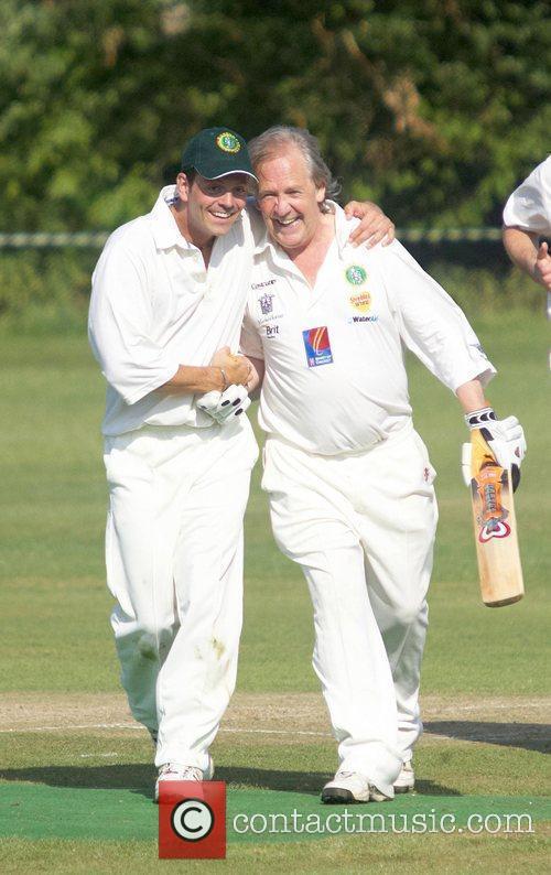 James Major, David English Bunbury celebrity charity cricket...