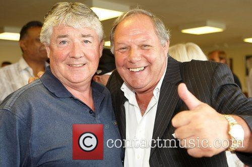 Jo Kinnear and Barry Fry (manager of Peterborough...