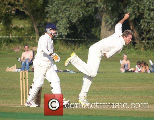 Matt Thomson Bunbury celebrity charity cricket match between...