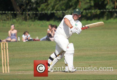 Matt Walker Bunbury celebrity charity cricket match between...