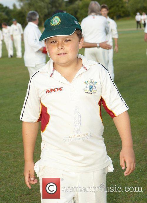 Michael Cowdrey,  Bunbury celebrity charity cricket match...