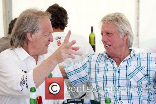 David English, Jeff Thompson  Charity cricket match...