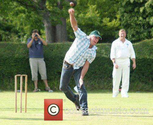 Charity cricket match between Harry Judd's XI and...
