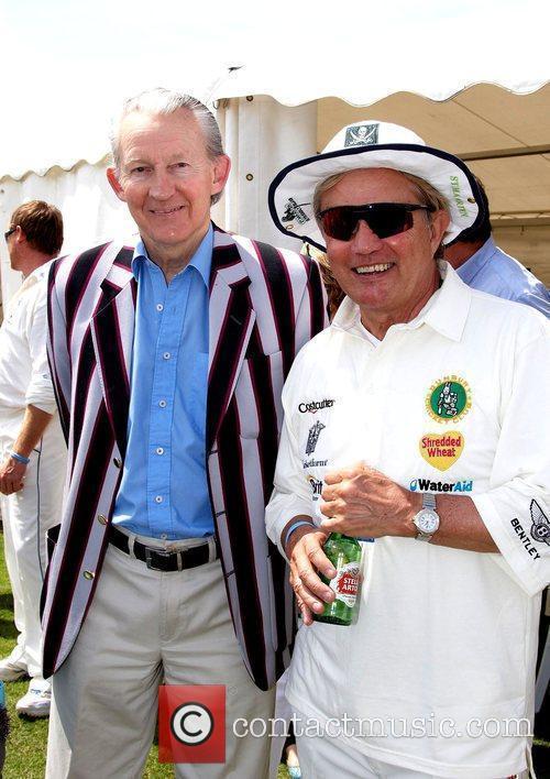 Julian Wilson, Fraser Hines Charity cricket match between...
