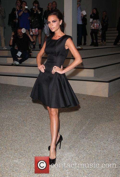 Victoria Beckham Burberry Closing Party for Fashion week...