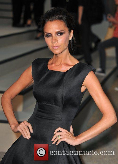 Victoria Beckham Burberry Closing Party for London Fashion...