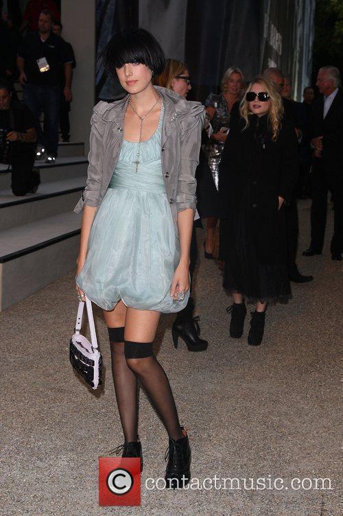 Agyness Deyn and Mary-Kate Olsen Burberry Closing Party...