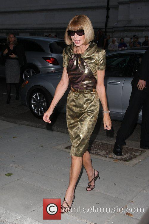Anna Wintour Burberry Closing Party for Fashion week...
