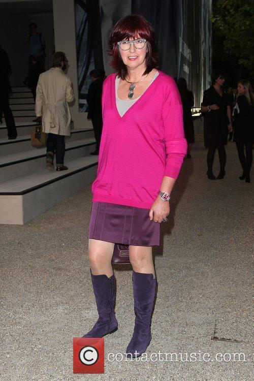 Janet Street-Porter Burberry Closing Party for Fashion week...