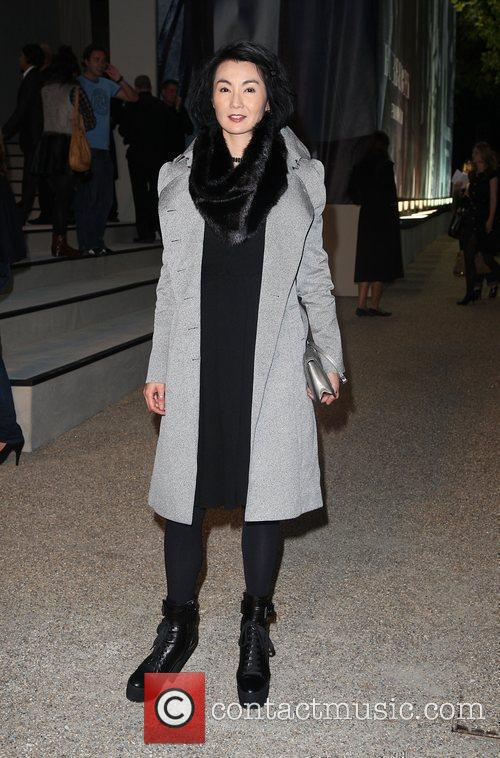 Maggie Cheung Burberry Closing Party for Fashion week...