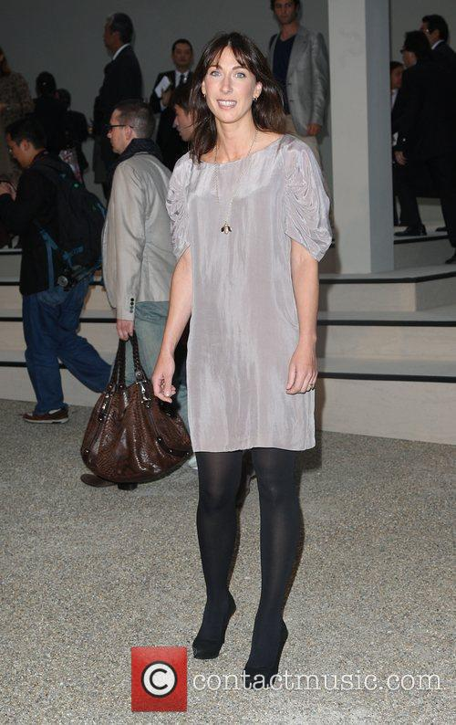 Samantha Cameron 25th anniversary London Fashion Week Spring/Summer...
