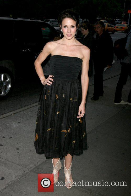 Lynn Collins New York premiere of 'The Burning...