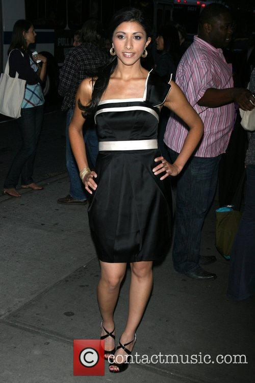 Reshma Shetty New York premiere of 'The Burning...